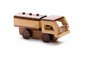 Wooden tanker - wooden toy - Woodix Toys ©2008
