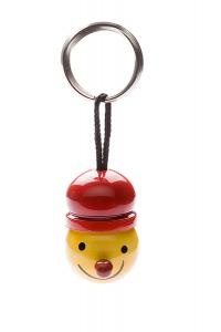 Indi wooden key ring 'red hat' - wooden toy - Woodix Toys ©2008